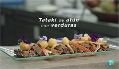 La ciencia de la salud - Tataki de atún con verduras