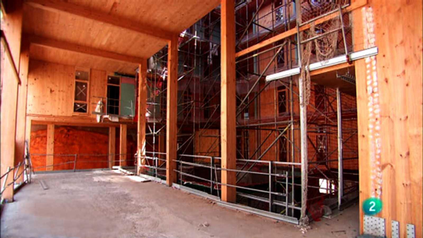 La aventura del saber Casas de madera contralaminada LaCol La Borda.hormigón arquitectura #AventuraSaberArquitectura