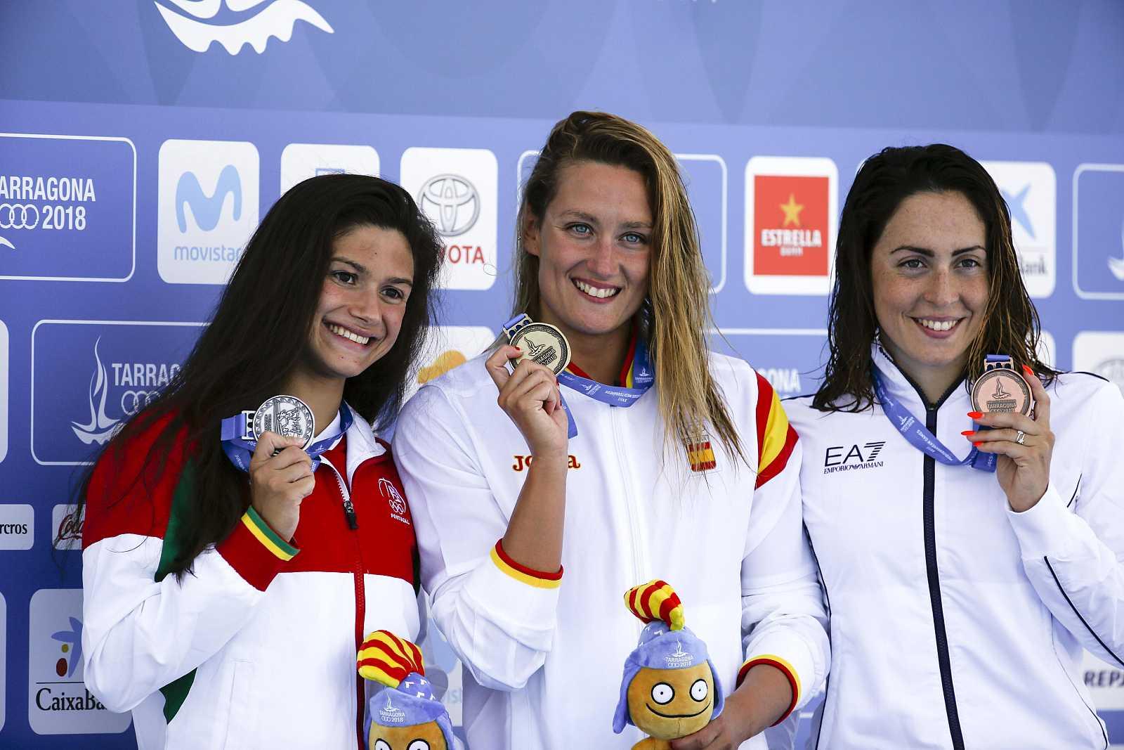 Mireia Belmonte cierra su participación en Tarragona con 2 oros y 2 platas