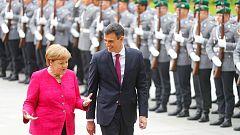 Sánchez y Merkel se reúnen en Berlín para sellar su colaboración ante los retos de la UE