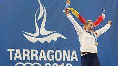 Lydia Valentín consigue dos oros en Tarragona