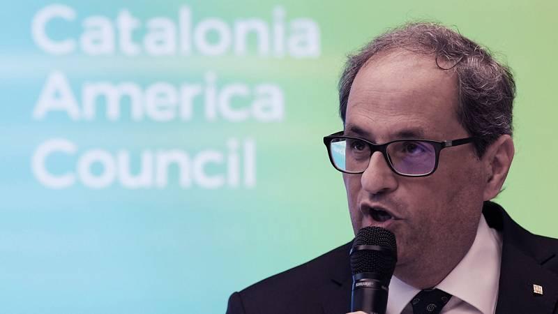 Incidente en Washington entre Quim Torra y el embajador español, Pedro Morenés
