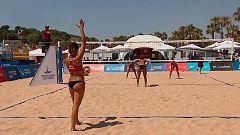 Juegos Mediterráneos 2018 - Voley Playa 2ª Semifinal Femenina: Francia - Italia