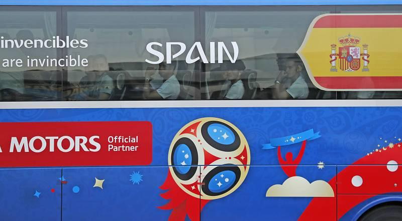 La Roja regresa a España tras la decepción de Rusia