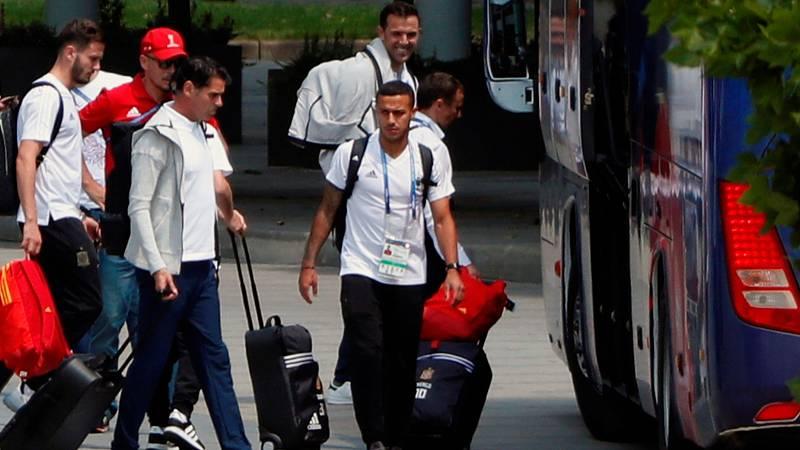 Recién eliminados del Mundial y aún con la maleta en la mano, los responsables de la RFEF ya piensan en un seleccionador que ocupe el puesto de Hierro para los próximos retos de la Roja: Quique, Luis Enrique o Setién, primeros nombres en aparecer.