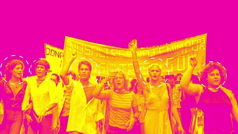 Nosotrxs Somos - Así fue la primera manifestación LGTBI en España en 1977