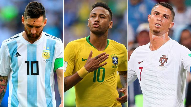 Brasil confirma su favoritismo en un Mundial sin Messi ni Cristiano