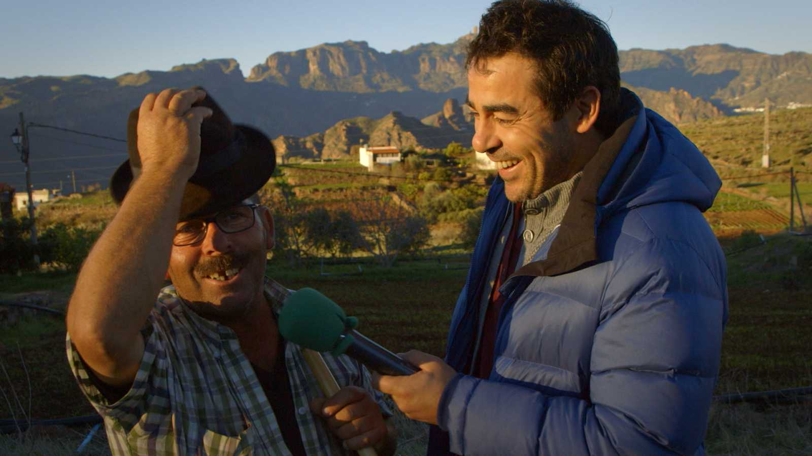 """Los mejores momentos de """"El paisano"""" en Artenara, en las cumbres de Gran Canaria"""