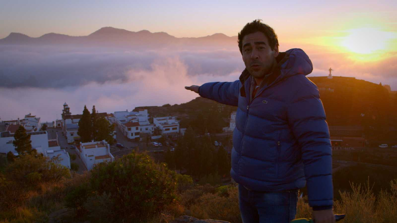 """Así comienza """"El paisano"""" en Artenara, en la cumbre de Gran Canaria"""