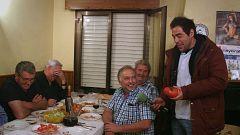 """Así comienza la visita de """"El paisano"""" a Sotés, en La Rioja"""