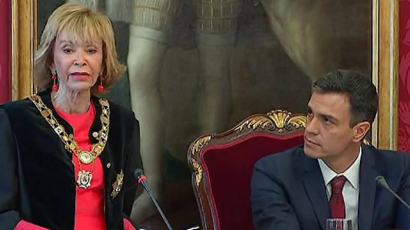 María Teresa Fernández de la Vega se convierte en la primera mujer al frente del Consejo de Estado