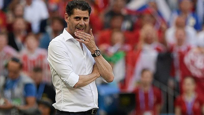 Fernando Hierro deja la selección y la Federación