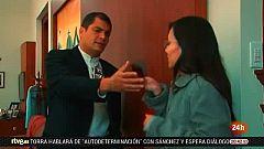 La justicia ecuatoriana pide la detención y extradición del expresidente  Rafael Correa
