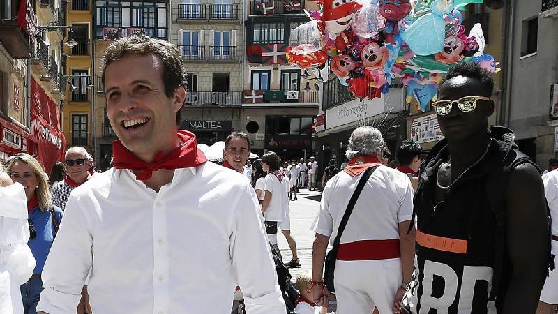 El PP sopesa si debe haber un debate entre Sáenz de Santamaría y Casado