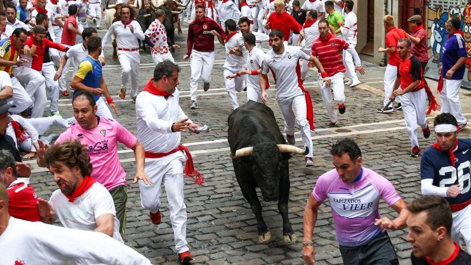 Vive San Fermín - Séptimo encierro - ver ahora
