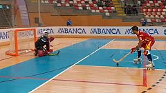 Hockey Patines - Campeonato de Europa Masculino: España - Inglaterra