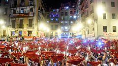 """Miles de personas despiden los Sanfermines 2018 entonando el """"Pobre de mí"""""""