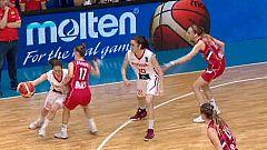 Baloncesto - Final del Campeonato de Europa Femenino Sub-20: España-Sebia
