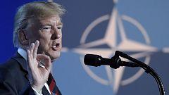Ruidoso debate en la cumbre de la OTAN por la exigencia de Trump de aumentar el gasto militar