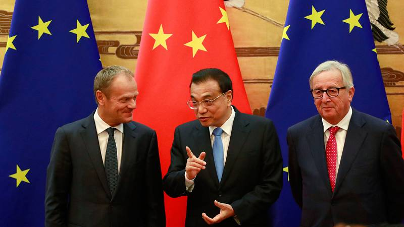 China y la UE acuerdan defender el sistema multilateral de comercio