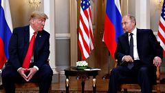 """Trump y Putin califican su encuentro de """"útil y productivo"""" pese a la falta de acuerdos específicos"""