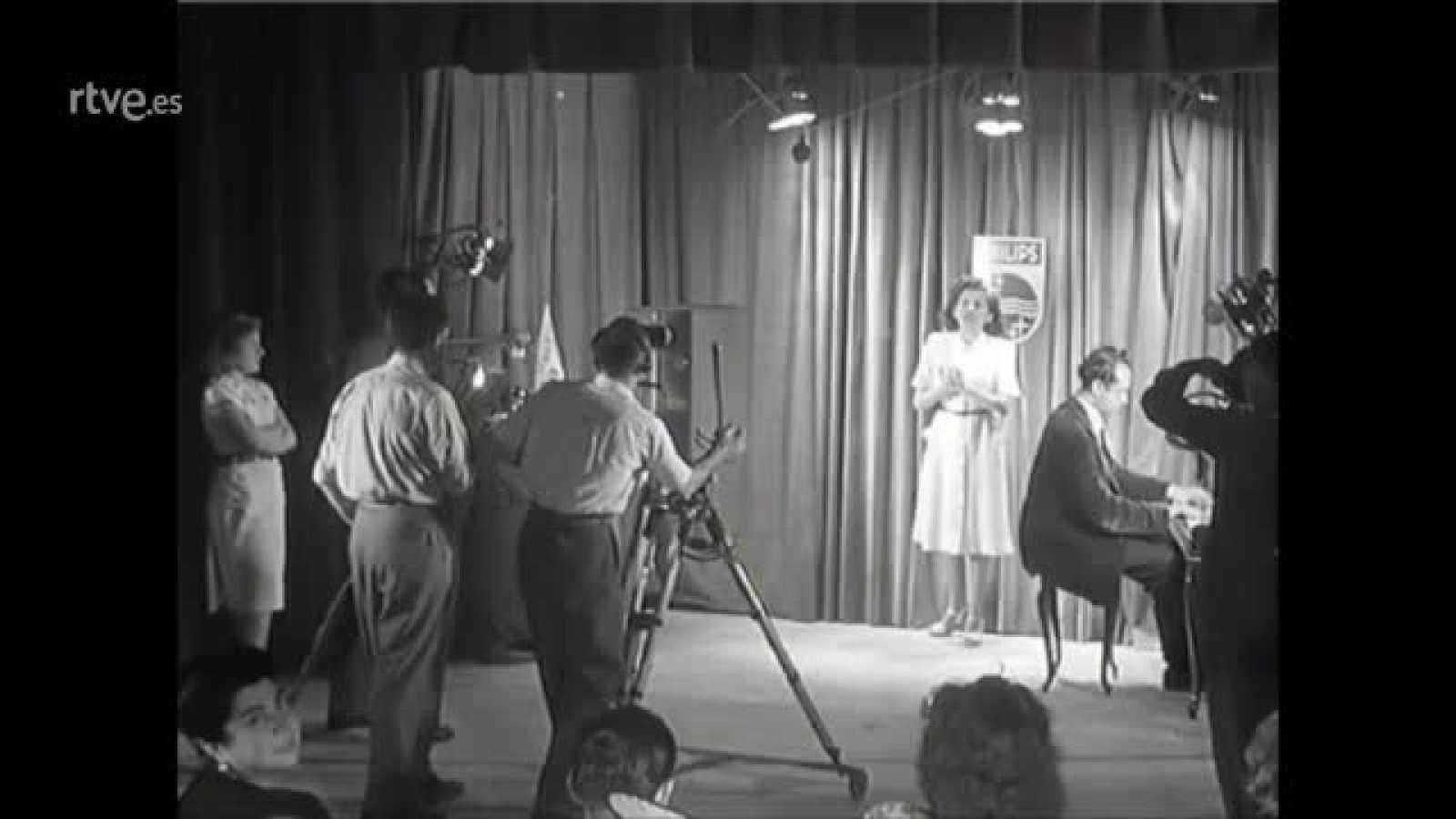 Historia de TVE - Primera demostración de Televisión en España