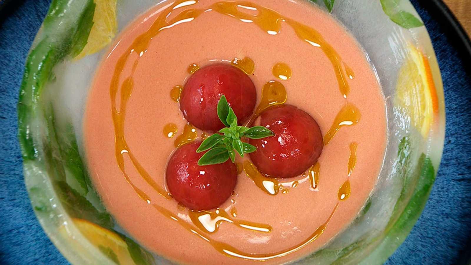 Torres en la cocina - Gazpacho de cerezas