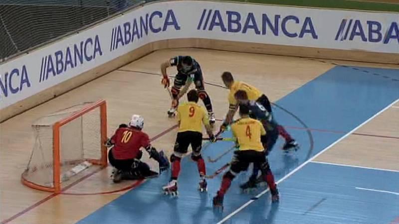 Hockey Patines - Campeonato de Europa Masculino: Bélgica - España