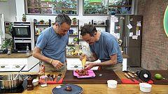 Torres en la cocina - Arroz de cabracho y buñuelos de melocotón