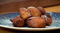 Torres en la cocina - Buñuelos de melocotón