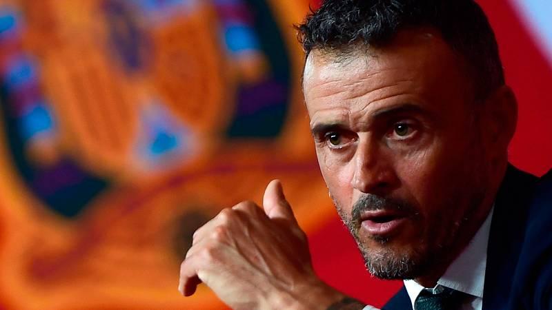 El entrenador asturiano Luis Enrique Martínez ha sido presentado como nuevo seleccionador de España, junto a Luis Rubiales y José Francisco Molina. El técnico ha asegurado estar deseando dar su primera lista.