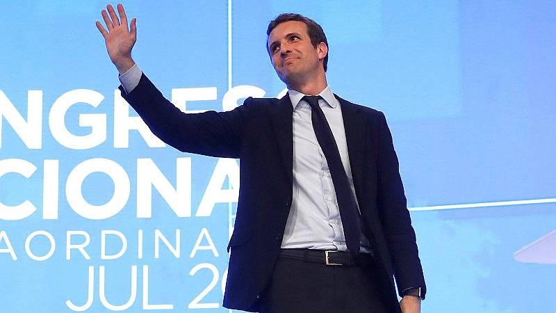 """Pablo Casado, nuevo presidente del PP: """"Hoy nadie ha perdido, solo ha ganado el Partido Popular"""""""