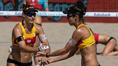 Voley playa - Campeonato de Europa Femenino 1ª Semifinal: España-Suiza