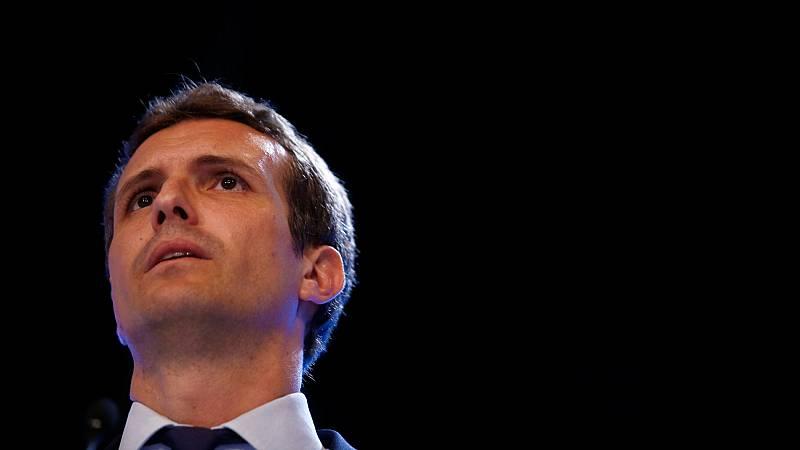 """Pablo Casado, de """"dar la cara"""" por el PP a encabezar la derecha sin complejos"""