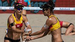 Voley playa - Campeonato de Europa Femenino Bronce: España-Rep. Checa