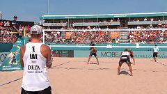 Voley playa - Campeonato de Europa Masculino 2ª Semifinal: Rusia - Letonia