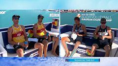 Voley playa - Campeonato de Europa Masculino Bronce: España - Rusia
