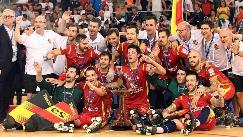 Hockey patines - Campeonato de Europa Masculino Final: España - Portugal - ver ahora