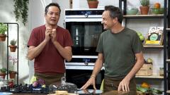 Torres en la cocina - Judías a la carbonara y churrasco de ternera