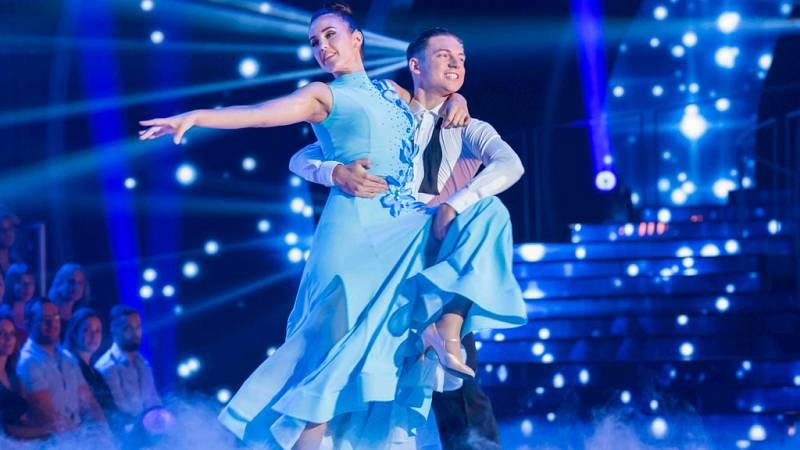 """Bailando con las estrellas - Patry Jordán y Rubén bailan """"Tu canción"""""""
