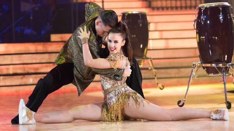 """Bailando con las estrellas - Patry Jordán y Rubén bailan """"Like it"""""""