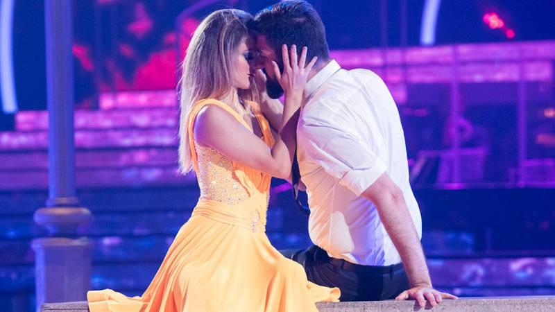 """Bailando con las estrellas - Manu Sánchez y Mireya bailan """"A lovely night"""""""