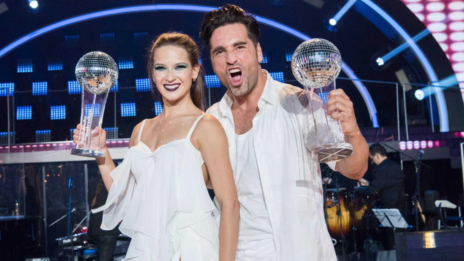 Bailando con las estrellas - David Bustamante y Yana Olina ganan la primera edición de 'Bailando con las estrellas'