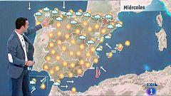 Este miércoles habrá tormentas fuertes en los Pirineos y temperaturas muy altas en el nordeste