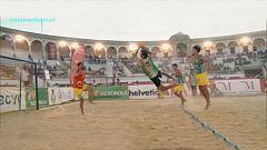 Balonmano Playa - Arena Handball Tour 3, desde Antequera. Resumen