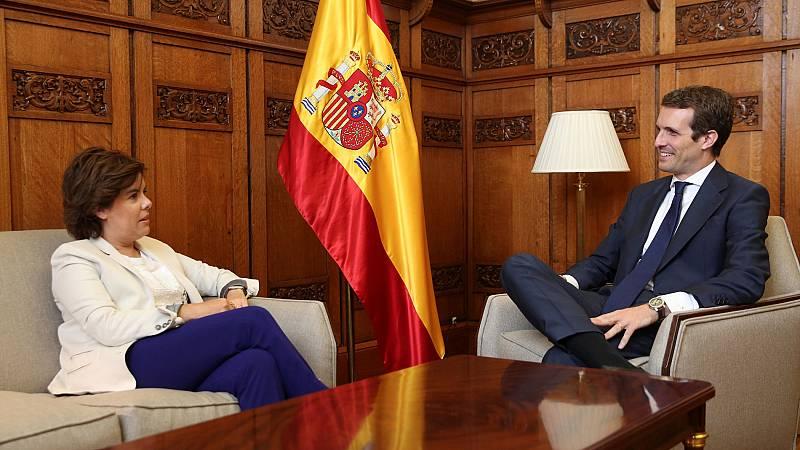 Casado niega a Santamaría su petición de un reparto proporcional de puestos en la dirección del PP