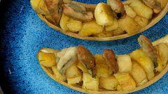 Torres en la cocina - Plátano salteado