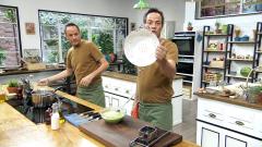 Torres en la cocina - Pasta de guisantes. Bollos japoneses