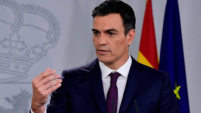 """Sánchez, sobre las grabaciones a Corinna: """"No vamos a aceptar ningún chantaje al Estado"""""""