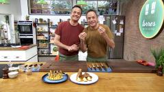 Torres en la cocina - Terrina de cordero y plátano salteado